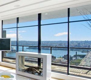 раздвижное панорамное окно