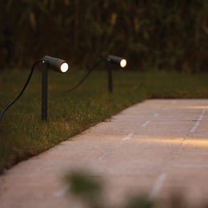 напольный точечный светильник