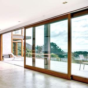 подъемно-раздвижное панорамное окно