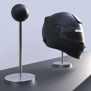 подставка для шлема из нержавеющей стали