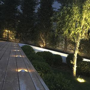 светильник встраиваемый в пол