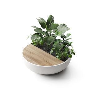 кадка для садовых растений из высокопрочного бетона