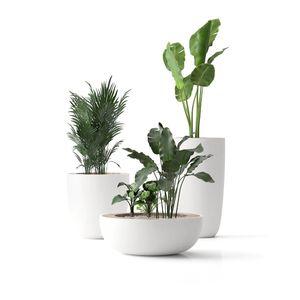 кадка для садовых растений из композита