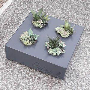 кадка для садовых растений из волокнистого цемента