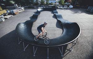 скейтпарк из бетона