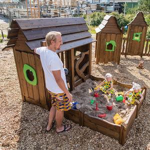 домик для игр для интерьера / для улицы