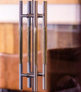 стационарная дверная ручка для стеклянной двери