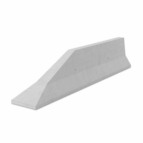 защитный барьер / дорожный / неподвижный / из бетона
