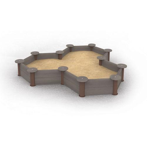 песочница для игровой площадки