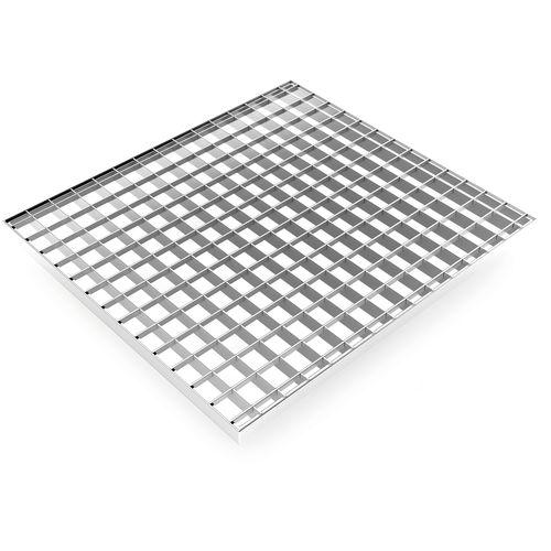 решетчатый настил из стали / из алюминия / из нержавеющей стали / для промышленного настила