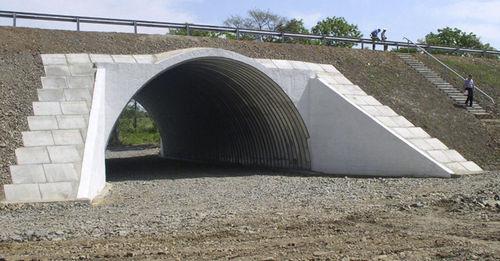 волнистое листовое железо / изогнутое / из нержавеющей стали / для строительства моста