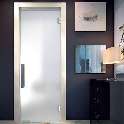 дверь для помещения / качающаяся / из стекла