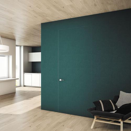 дверь для помещения / створчатая / из дерева / вмонтированная