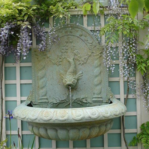 фонтан из стекловолокна