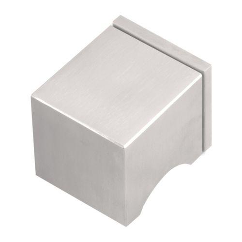 современная круглая дверная ручка / из отшлифованной нержавеющей стали / из нержавеющей стали / из окрашенного металла
