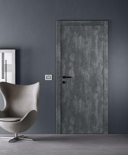 дверь для помещения / створчатая / из МДФ / пламестойкая