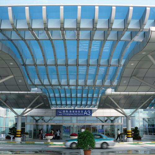 крыша из поликарбоната / со стоячим фальцем / герметичная / с защитой от УФ-излучения
