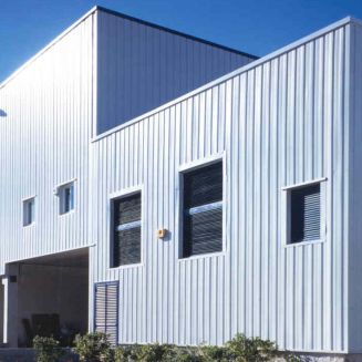 облицовка фасада сталь / с полимерным покрытием / по индивидуальным замерам