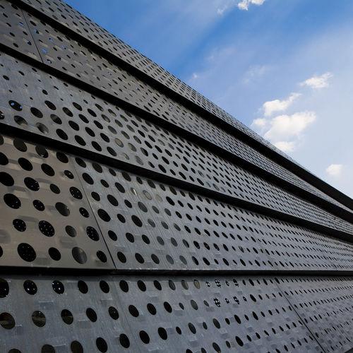 перфорированное листовое железо / декоративное / из цинка / для строительства моста