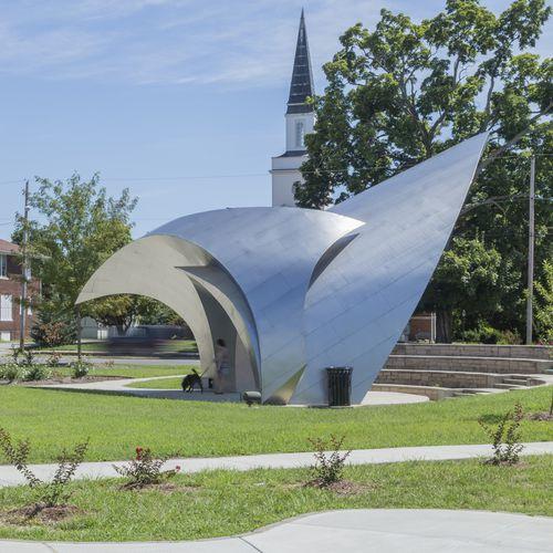 скульптура из нержавеющей стали / для наружного применения / для общественных мест