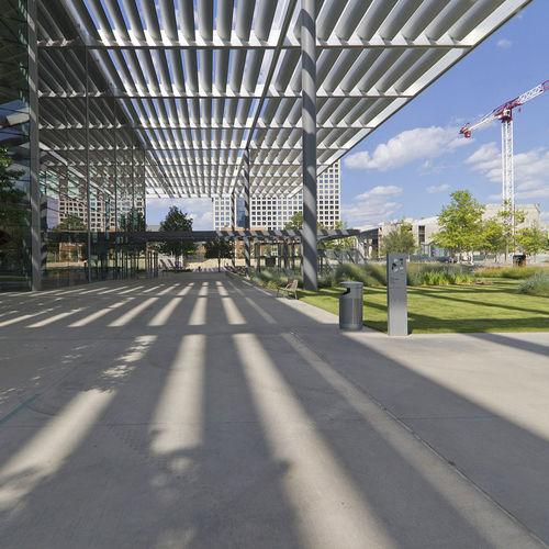 навес для коммерческих зданий / из алюминия / для профессионального использования / сборный