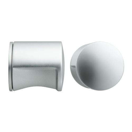 современная круглая дверная ручка / из алюминия