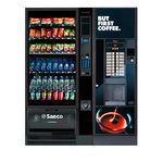 отдельностоящий автомат для напитков и закусок
