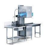 посудомоечная машина с капотом / для профессионального использования / сушащая