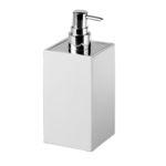 дозатор мыла для гостиницы / стоящий без поддержки / из керамики / ручной