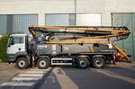 мобильный бетононасос / на грузовике