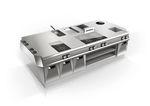 кухня для профессионального использования из нержавеющей стали / компактная / модульная / по индивидуальному заказу