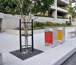 квадратная решетка для деревьев