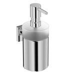 дозатор мыла для профессионального использования / настенный / из хрома / ручной