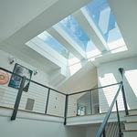 стеклянная крыша из алюминия