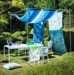 ткань для мебели / для штор / для защиты от солнца / с рисунком