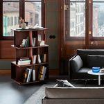 современный книжный шкаф