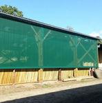вентиляционная решетка из ткани / прямоугольная / для фасада / для подачи и возврата воздуха