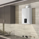 газовый водонагреватель мгновенного действия / настенный / вертикальный / для домашнего использования