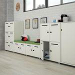шкафчик для раздевалки из стали / для офисов