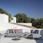 модульный диван / угловой / современный / для сада