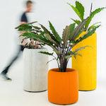 кадка для садовых растений из ткани
