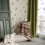 ткань для мебели / для штор / настенная / однотонная