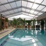 высокий навес для бассейна