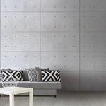 Панель для настила / из бетона / для мебели / настенная