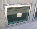 неподвижное окно / из нержавеющей стали / с тройным остеклением / герметичное