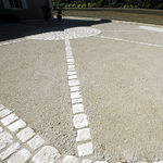 напольное покрытие из бетона / дорожное / для домашнего использования / для общественных мест