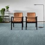 ковровое покрытие из плит / стеганое / петлевое / синтетическое