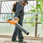 малогабаритный выдуватель воздуха для листьев / легкий