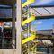 винтовая лестница / металлическая конструкция / с металлическими ступеньками / без подступенка