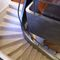 лестница в четверть оборота / с каменными ступеньками / с подступенком / традиционная